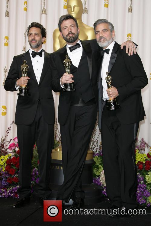 Grant Heslov, Ben Affleck and George Clooney 1