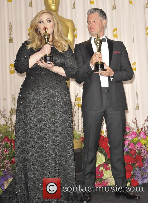 adele adkins paul epworth the 85th annual oscars 3525242
