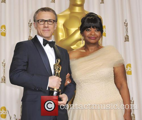 Christoph Waltz and Octavia Spencer 8