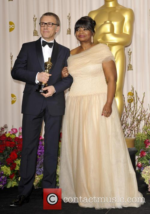 Christoph Waltz and Octavia Spencer 9