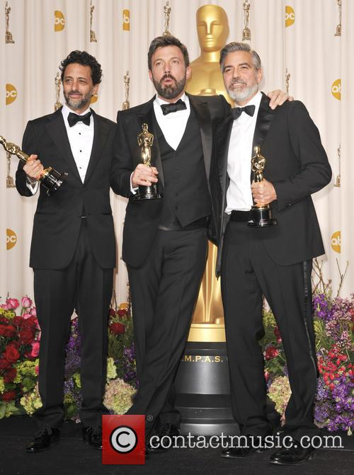 Grant Heslov, George Clooney and Ben Affleck 4