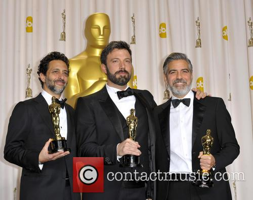 Grant Heslov, George Clooney and Ben Affleck 5