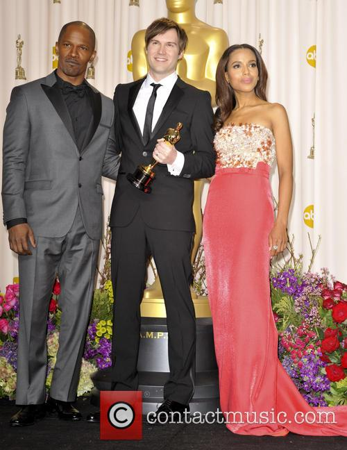 Kerry Washington, Jamie Foxx and John Kahrs 7