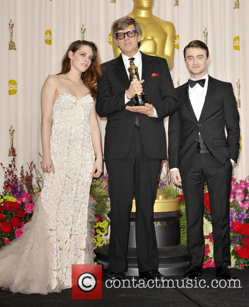Kristen Stewart, Rick Carter and Daniel Radcliffe