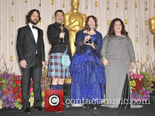 Paul Rudd, Mark Andrews, Brenda Chapman and Melissa Mccarthy