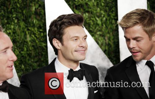 Ryan Seacrest and Derek Hough 2