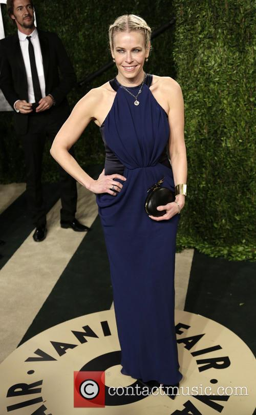 Chelsea Handler at the Vanity Fair Oscar Party 2013