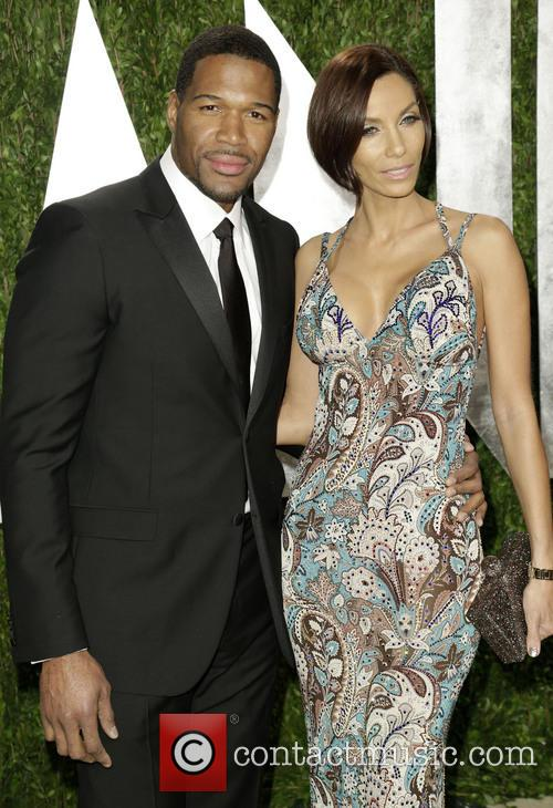 Michael Strahan and Nicole Murphy 2