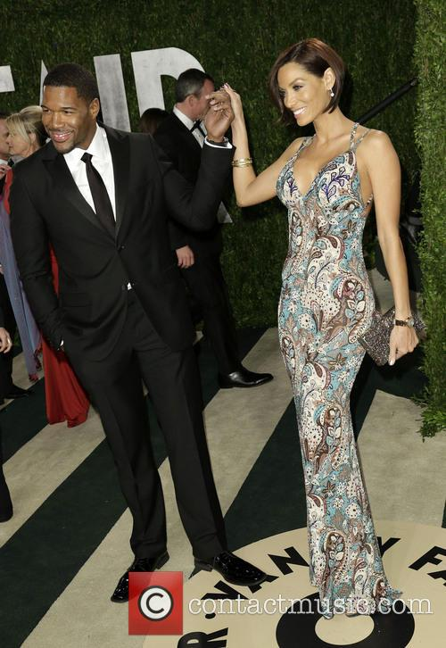 Michael Strahan and Nicole Murphy 1