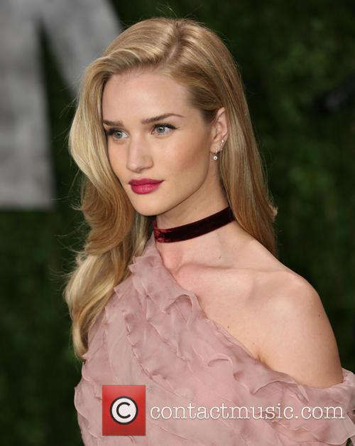 Rosie Huntington-Whiteley, The Sunset Towers