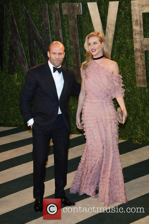 Rosie Huntington-Whiteley, Jason Statham, Sunset Tower