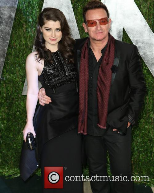 Eve Hewson and Bono 6