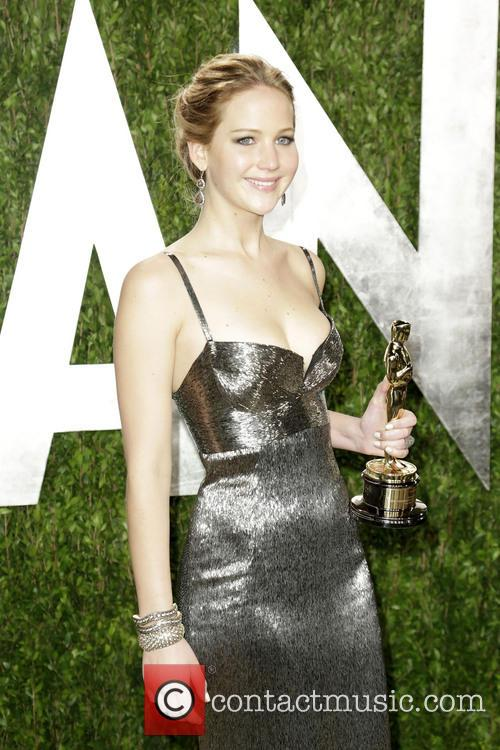 Jennifer Lawrence - 2013 Vanity Fair Oscar Party at Sunset Tower