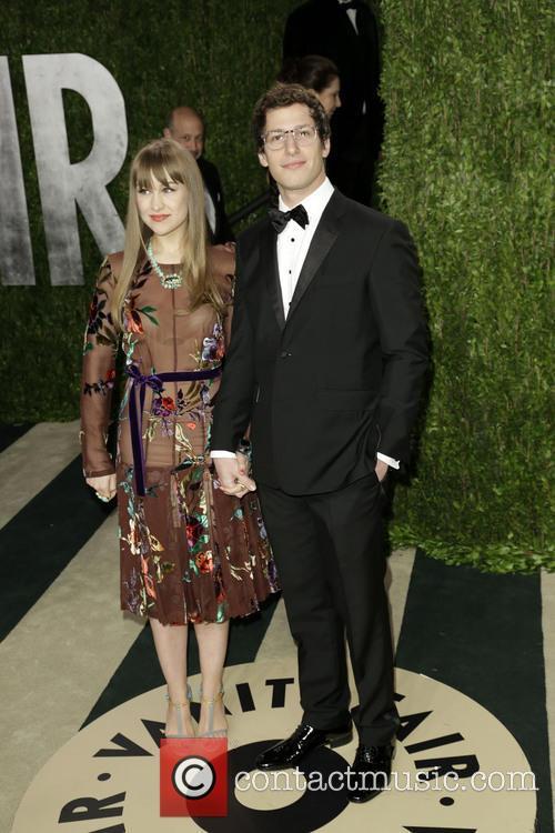 Comedian Andy Samberg and Joanna Newsom 2