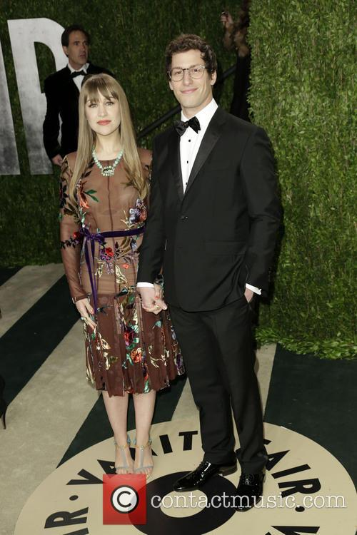 Comedian Andy Samberg and Joanna Newsom 1