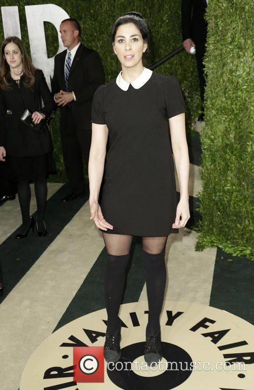 sarah silverman vanity fair oscar party 3528560