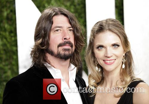 Dave Grohl and Jordyn Blum Grohl