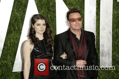 Eve Hewson and Bono 2
