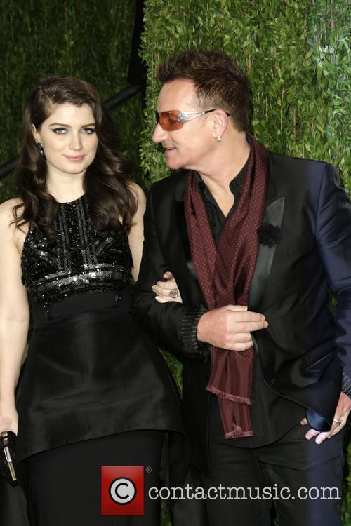 Eve Hewson and Bono 1