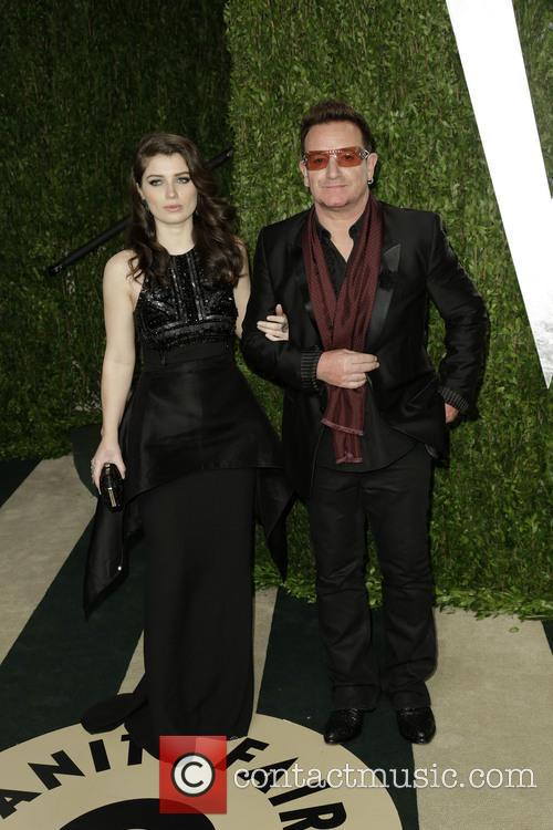 Eve Hewson and Bono 3