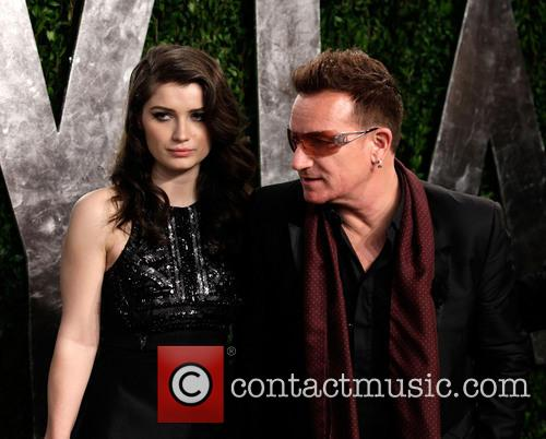 Eve Hewson and Bono 4
