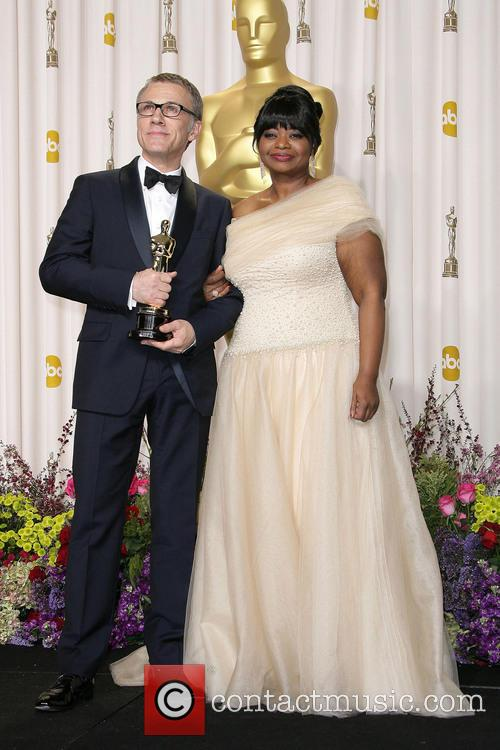 Christoph Waltz and Octavia Spencer 4