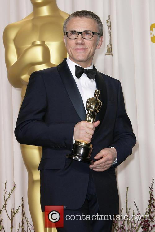christoph waltz oscars press room 3522233