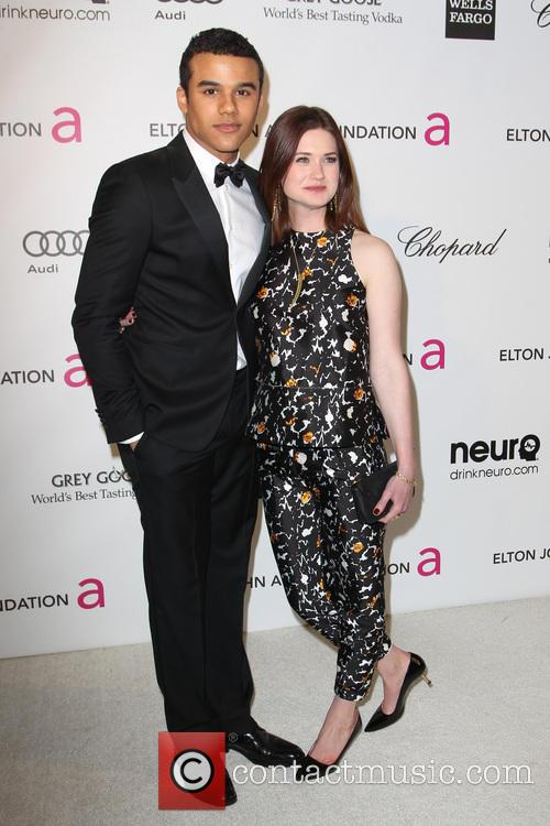 Jacob Artist and Bonnie Wright
