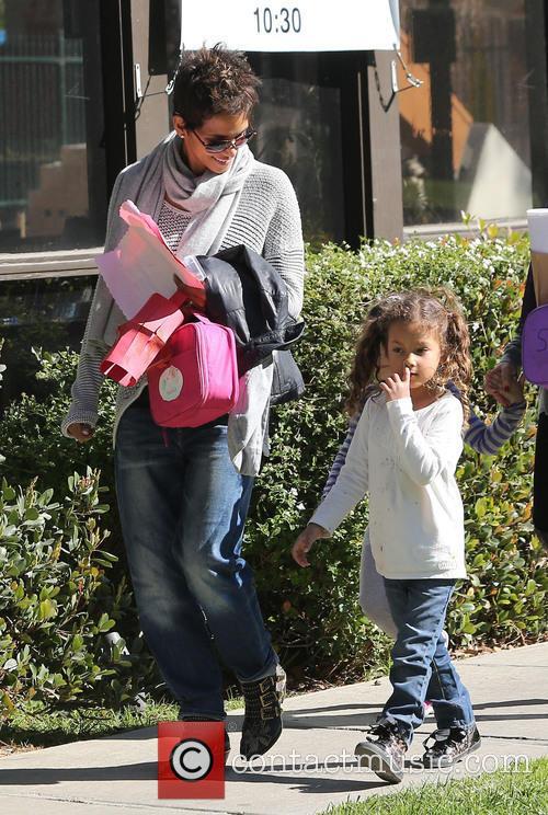 Halle Berry and Nahla Aubry 14