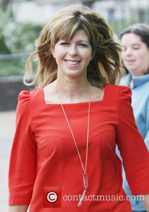 kate garraway celebrities at the itv studios 3524690