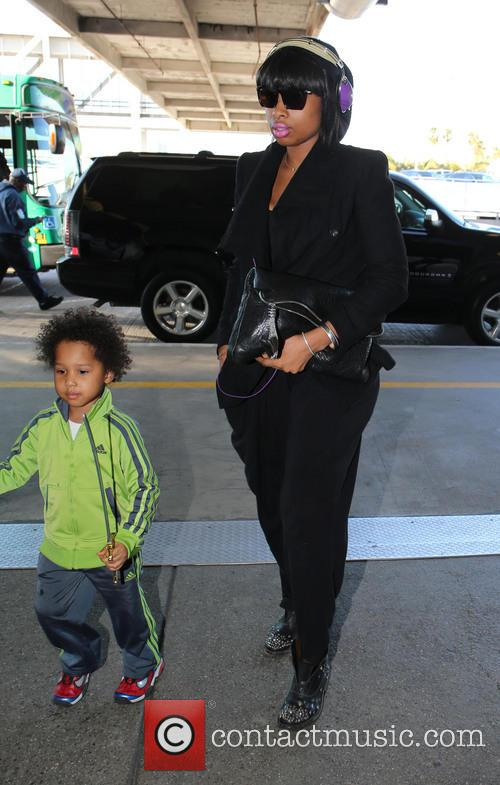 Jennifer Hudson and David Daniel Otunga Jr 6