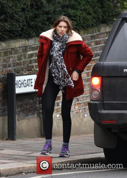 Jools Oliver seen out and about