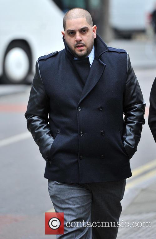 Derek Rose and Jakir Uddin arrive at Southwark...