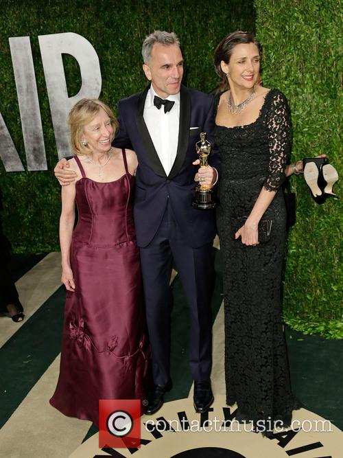 Doris Kearns Goodwin, Actor Daniel Day-lewis and Rebecca Miller 1