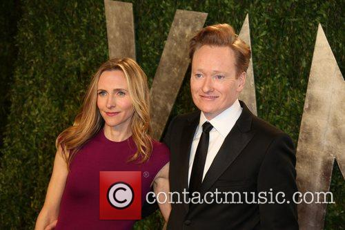 Conan O'brien and Liza Powel 2