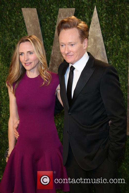 Conan O'brien and Liza Powel 1