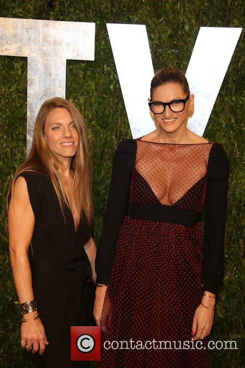 jenna lyons courtney crangi vanity fair oscar party 3528357