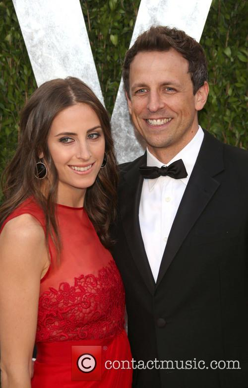 Seth Meyers Girlfriend Oscars