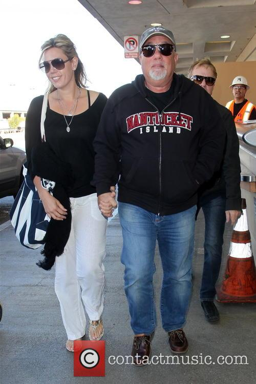 Billy Joel Arrives At LAX