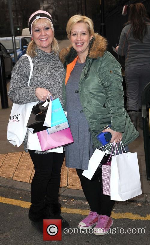 Lisa George and Katy Cavanagh
