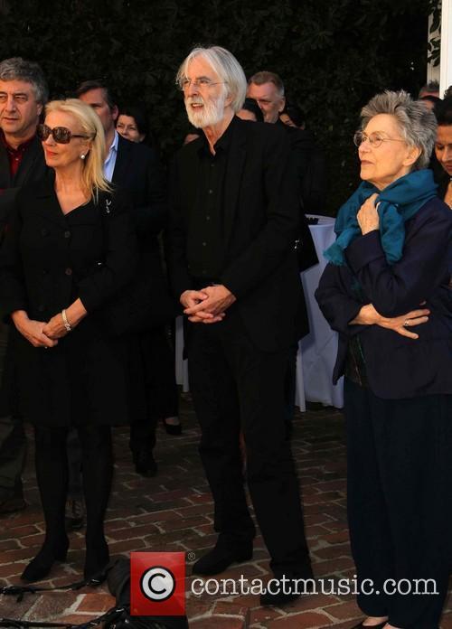 Margaret Menegoz, Michael Haneke and Emmanuelle Riva 7