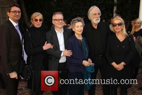Mr. Axel Cruau, Margaret Menegoz, Emmanuelle Riva, Michael Haneke and Susanne Haneke 1