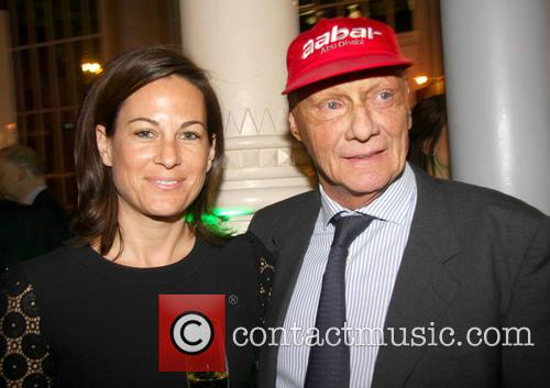 Birgit Lauda and Niki Lauda 4