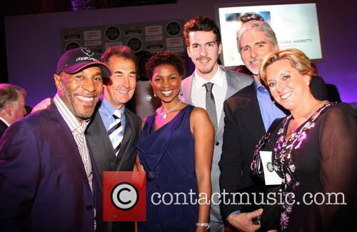 Danny Joh-jules. Steve Parrish, Petula Langlais, Josh Hill, Damon Hill and Michelle Hunter 6