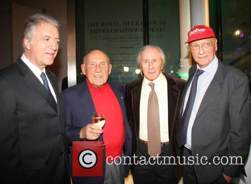 Jackie Stewart, Piero Ferrari, Sir Stirling Moss and Niki Lauda 2