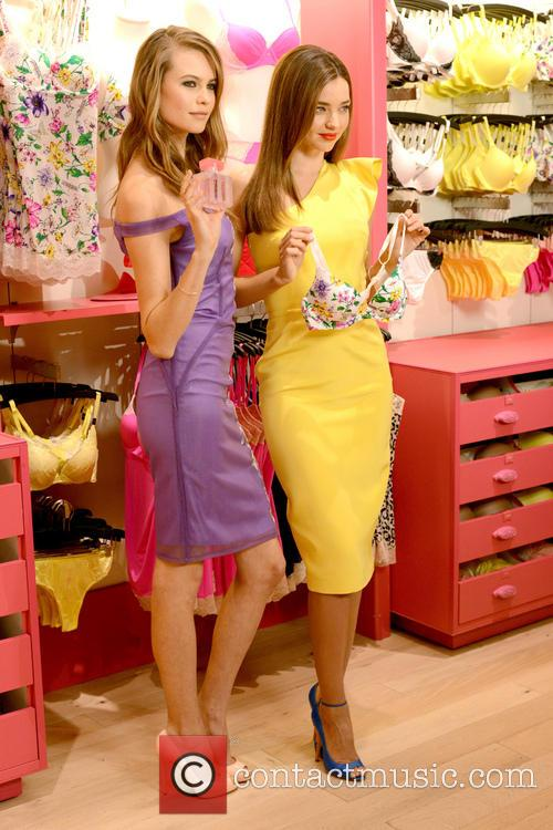 Victoria's Secret Angels launch the 'Fabulous' collection at...