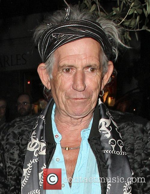 Keith Richards leaving Le Petite Maison