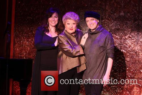 Debbie Gravitte, Marilyn Maye and Charles Busch 2