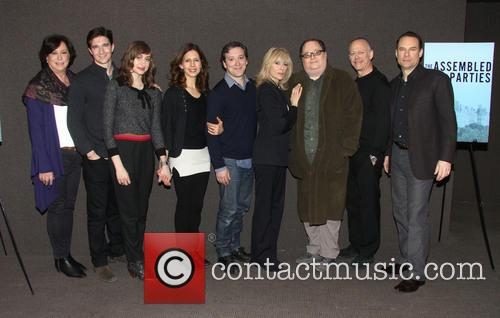 Lynne Meadow, Jake Silbermann, Lauren Blumenfeld, Jessica Hecht, Jeremy Shamos, Judith Light, Richard Greenberg Mark Blum and Jonathan Walker