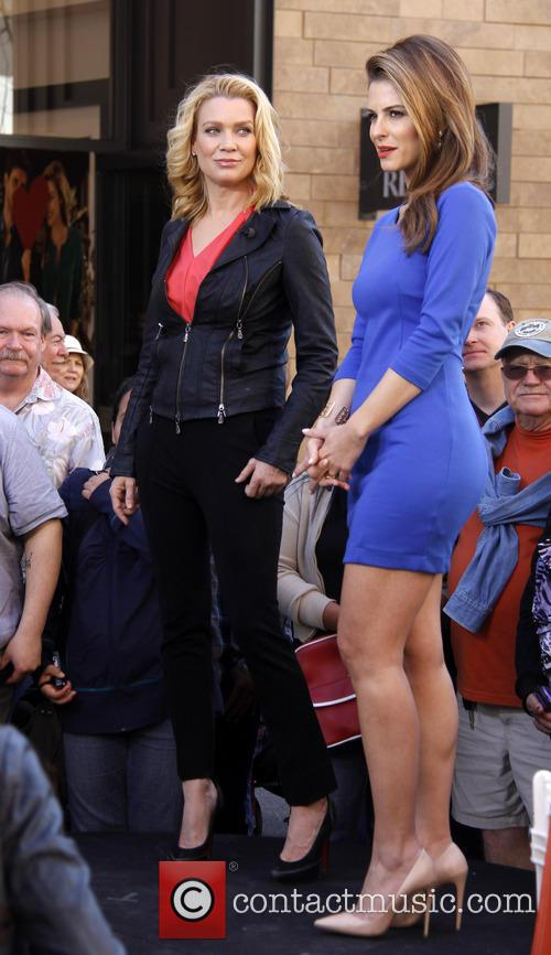 Laurie Holden and Maria Menounos 4